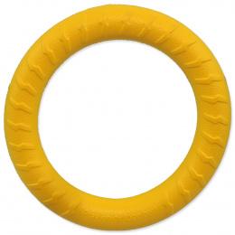 Rotaļlieta suņiem – Dog Fantasy Good's Foam Ring, yellow, 18 cm