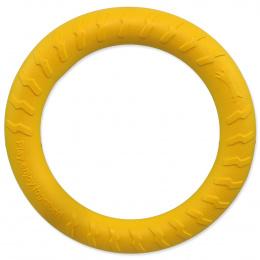 Rotaļlieta suņiem – Dog Fantasy Good's Foam Ring, yellow, 30 cm
