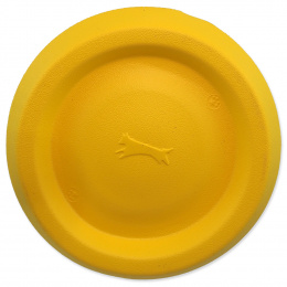 Lidojošais šķīvītis suņiem – Dog Fantasy Good's Foam Frisbee, yellow, 22 cm
