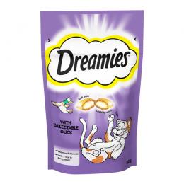 Лакомство для кошек - Dreamies Duck, 60 г