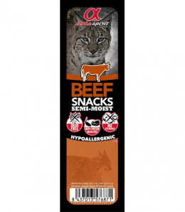Gardums kaķiem - ALPHA Spirit Cat Food Snack Beef, 35 g