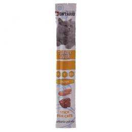 Лакомство для кошек - Ontario Stick for Cat Turkey and Liver, 5 г