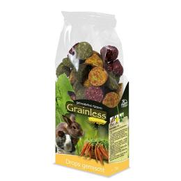 Gardums grauzējiem – JR Grainless Drops Mixed, 140 g