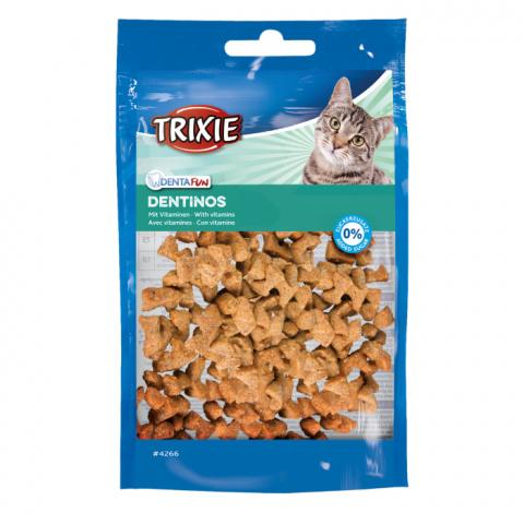 Лакомство для кошек - TRIXIE Esquisita Dentinos, 50 г title=