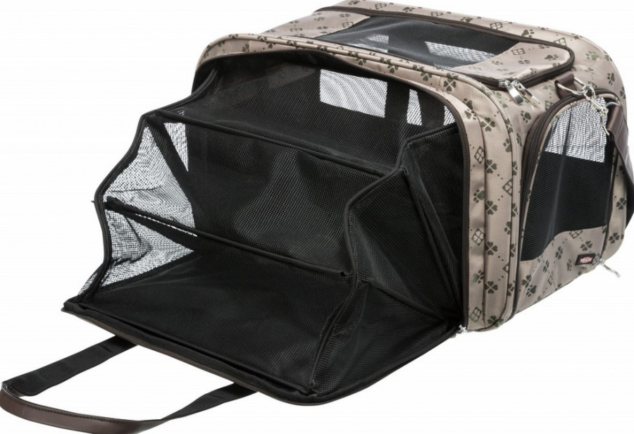 Transportēšanas soma dzīvniekiem - Trixie Maxima carrier, 33*32*54 cm, beige/brown