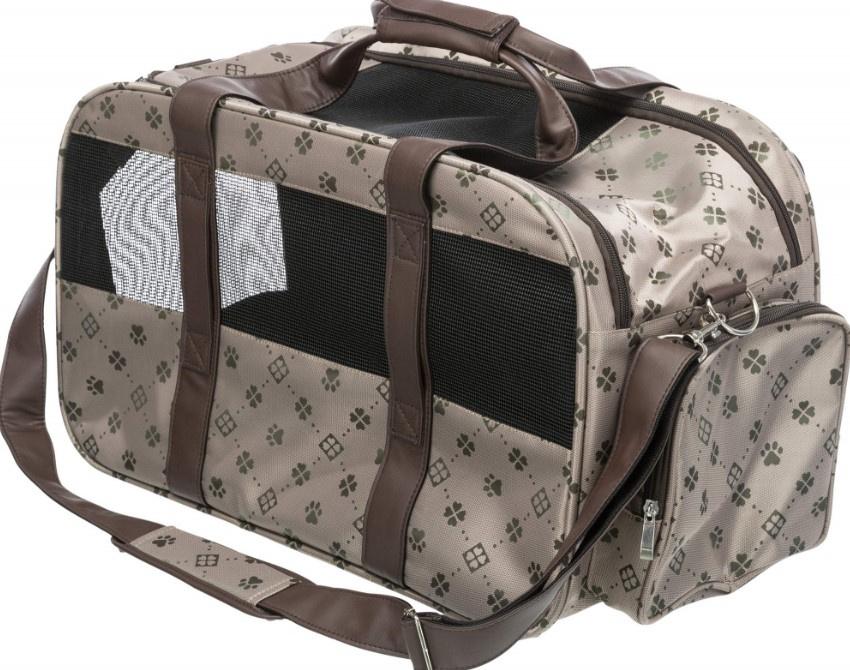 Сумка для транспортировки животных -Trixie Maxima carrier, 33*32*54 cм, beige/brown