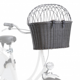 Корзина для велосипеда - TRIXIE Front bicycle basket, 44 * 34 * 41 см, grey