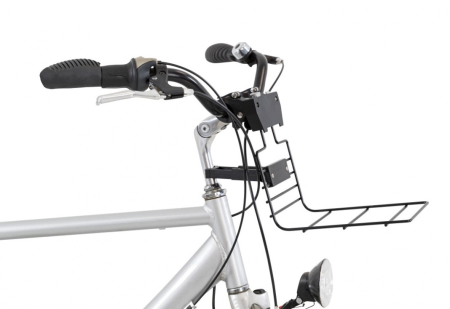 Velosipēda grozs dzīvnieku transportēšanai - TRIXIE Front bicycle basket, 41*47*29 cm, black