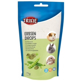 Лакомство для грызунов – TRIXIE Peas Drops, 75 г