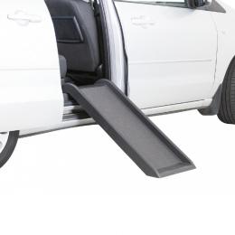 Automašīnas rampa - TRIXIE Ramp for dogs, Black, 38 x 100 cm