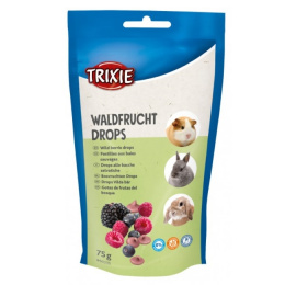 Gardums grauzējiem – TRIXIE Wildberries Drops, 75 g