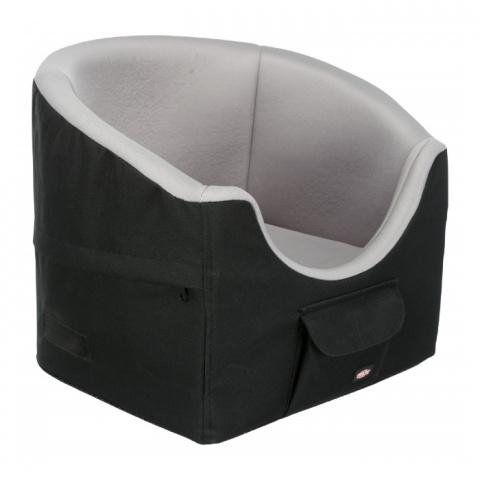Automašīnas sēdeklis - TRIXIE Car seat, Black/Grey, 45 × 39 × 42 cm title=