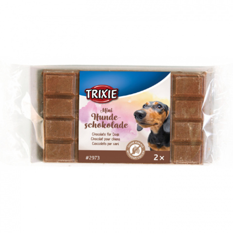Šokolāde suņiem - TRIXIE Schoko Dog Chocolate Mini, 30 g title=