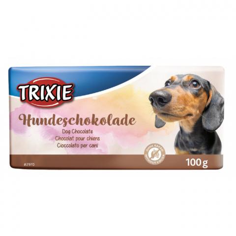 Šokolāde suņiem - TRIXIE Schoko Dog Chocolate, 100 g title=