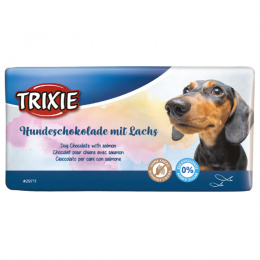 Лакомство для собак - TRIXIE Schoko Dog with Salmon, 100 г