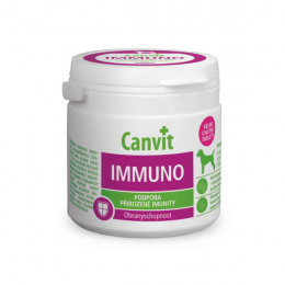 Vitamīni suņiem – Canvit Imunno tablets N100, 100 g