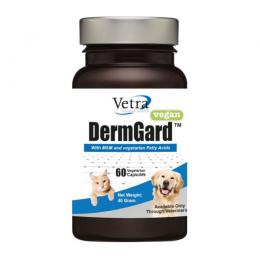 Пищевая добавка для животных – VETRA DERMGARD VEGAN капсулы N60