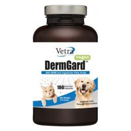 Пищевая добавка для животных – VETRA DERMGARD VEGAN капсулы N180