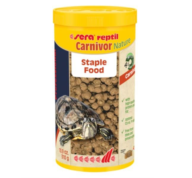 Barība reptiliem - Sera Reptil Professional Carnivor, 250 ml
