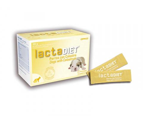 Молочная смесь для щенков - OPKO Health Europe, Lactadiet Calostro, 40 шт. title=