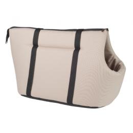 Transportēšanas soma – AmiPlay Pet Carrier Bag Basic (L), Beige, 42 x 26 x 30 cm