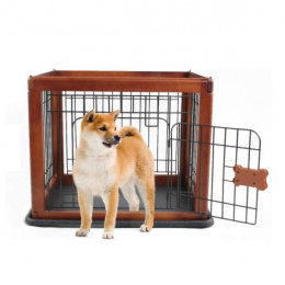 Бокс для животных - Pawise, Wood Pet Pen, 60 x 50 x 50 см