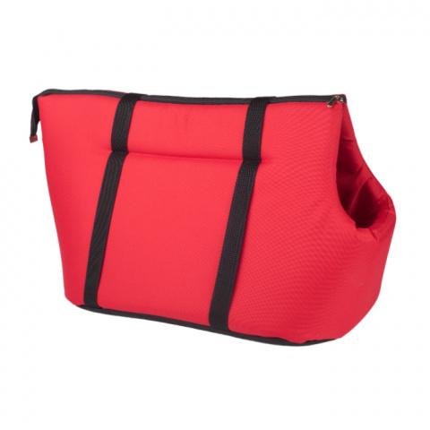 Transportēšanas soma – AmiPlay Pet Carrier Bag Basic (S), Red, 35 x 21 x 24 cm title=