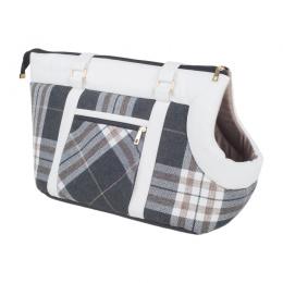 Transportēšanas soma dzīvniekiem – AmiPlay Pet Carrier Bag Kent (L), White, 42 x 26 x 30 cm