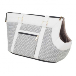 Transportēšanas soma dzīvniekiem – AmiPlay Pet Carrier Bag Morgan (L), White, 42 x 26 x 30 cm