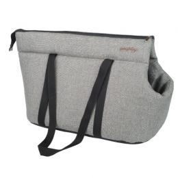 Transportēšanas soma dzīvniekiem – AmiPlay Pet Carrier Bag Palermo (L), Light Gray, 42 x 26 x 30 cm