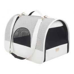 Transportēšanas soma dzīvniekiem – AmiPlay Transport Box Morgan (L), White