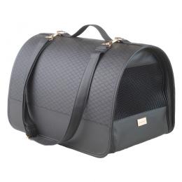 Transportēšanas soma dzīvniekiem – AmiPlay Transport Box New York (L), Black