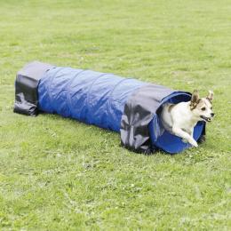 Аджилити туннель для собак – TRIXIE Dog Activity Agility Tunnel, 40 см/2 м, Blue
