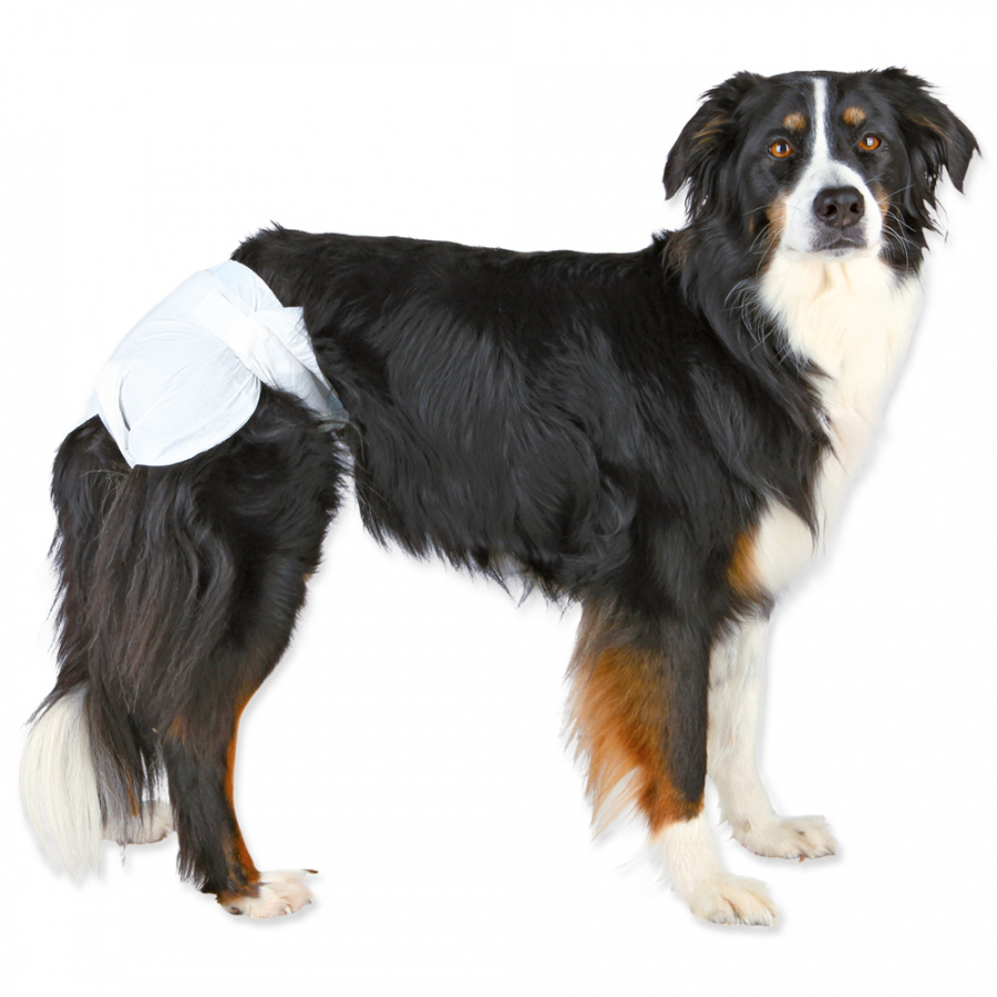 Памперсы для собак – TRIXIE Diapers for Female Dogs, XL: 40–58 cm, 12 gab.