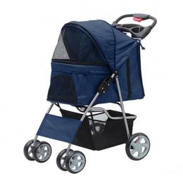 Коляска для собак – Pawise, Pet Stroller, blue, 68 x 46 x 100 см