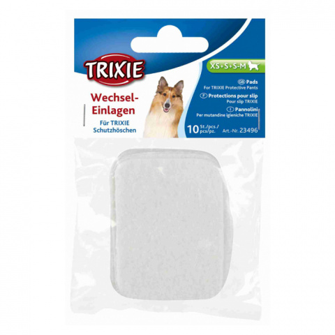 Biksīšu ieliktnīši suņiem – TRIXIE Dog Pant and Sanitary Liner, Small title=