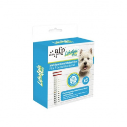 Фильтр для поилки - AFP, Lifestyle 4 Pet, Multifunctional Water Filter, 3 шт.