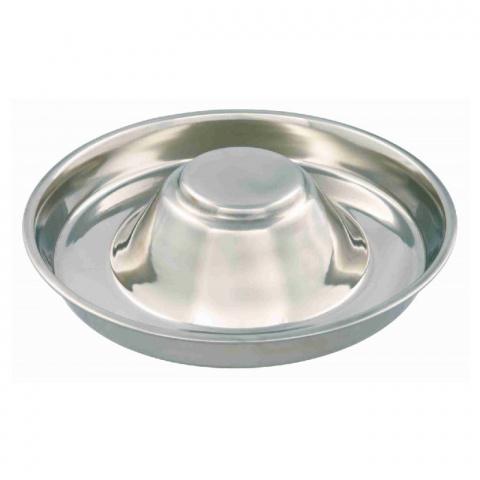 Bļoda suņiem – TRIXIE Puppy Bowl, Stainless Steel, 29 cm, 1,4 l title=