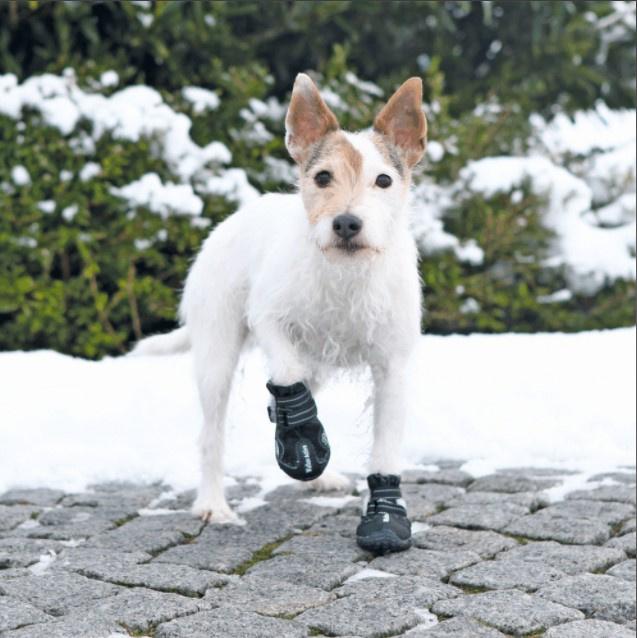 Обувь для собак - Trixie, Walker Active Protective Boots, S-M, 2 шт.