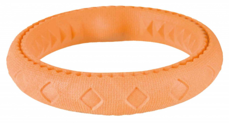Rotaļlieta suņiem - Trixie Ring, TPR floatable, 17 cm