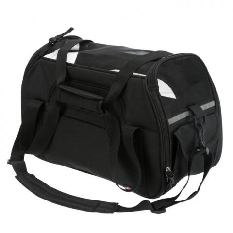 Transportēšanas soma dzīvniekiem - Trixie Madison carrier, 19 × 28 × 42 cm, black title=
