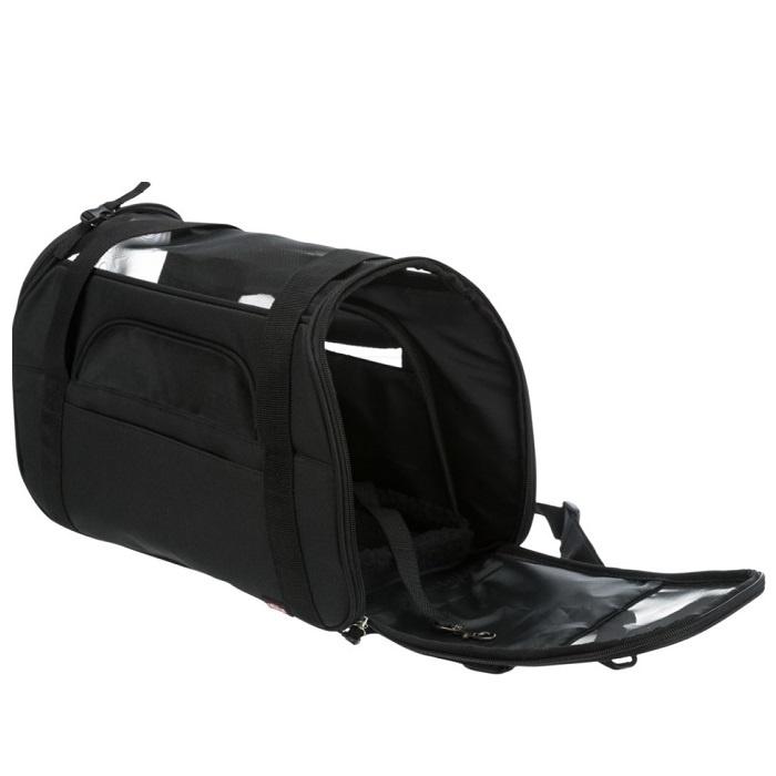 Transportēšanas soma dzīvniekiem - Trixie Madison carrier, 19 × 28 × 42 cm, black