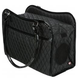Сумка для транспортировки животных - Trixie Amina Carrier, 18 × 29 × 37 см, black