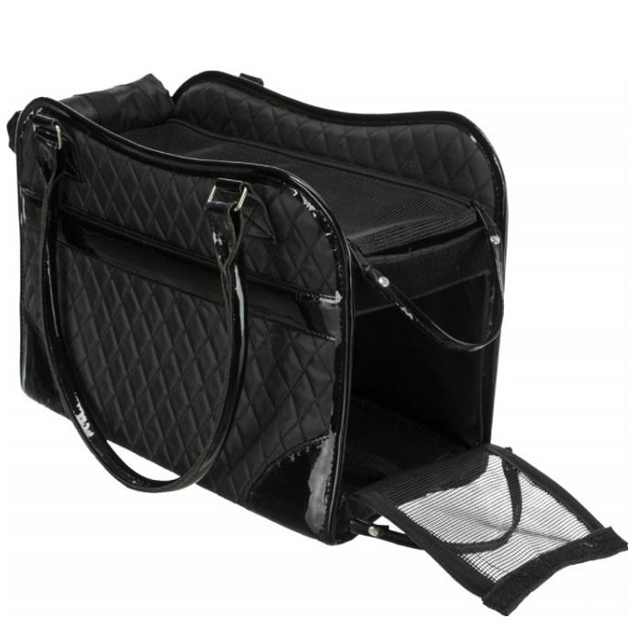 Transportēšanas soma dzīvniekiem - Trixie Amina Carrier, 18 × 29 × 37 cm, black