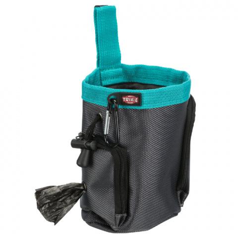 Somiņa gardumiem – TRIXIE Dog Activity Snack Bag Baggy 2 in 1, 10 x 13 cm title=