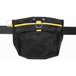 Somiņa gardumiem – TRIXIE Sporting Snack Bag, 23 x 19 cm, Black/Yellow