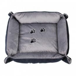 Спальное место для собак – AFP Pet Bed, with Paws, Blue/Grey