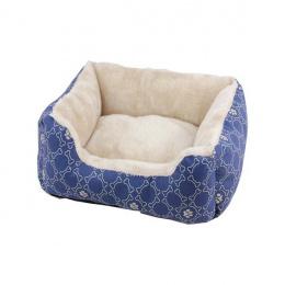 Guļvieta suņiem – Pawise Square Dog Bed, Blue, S 48 x 40 cm