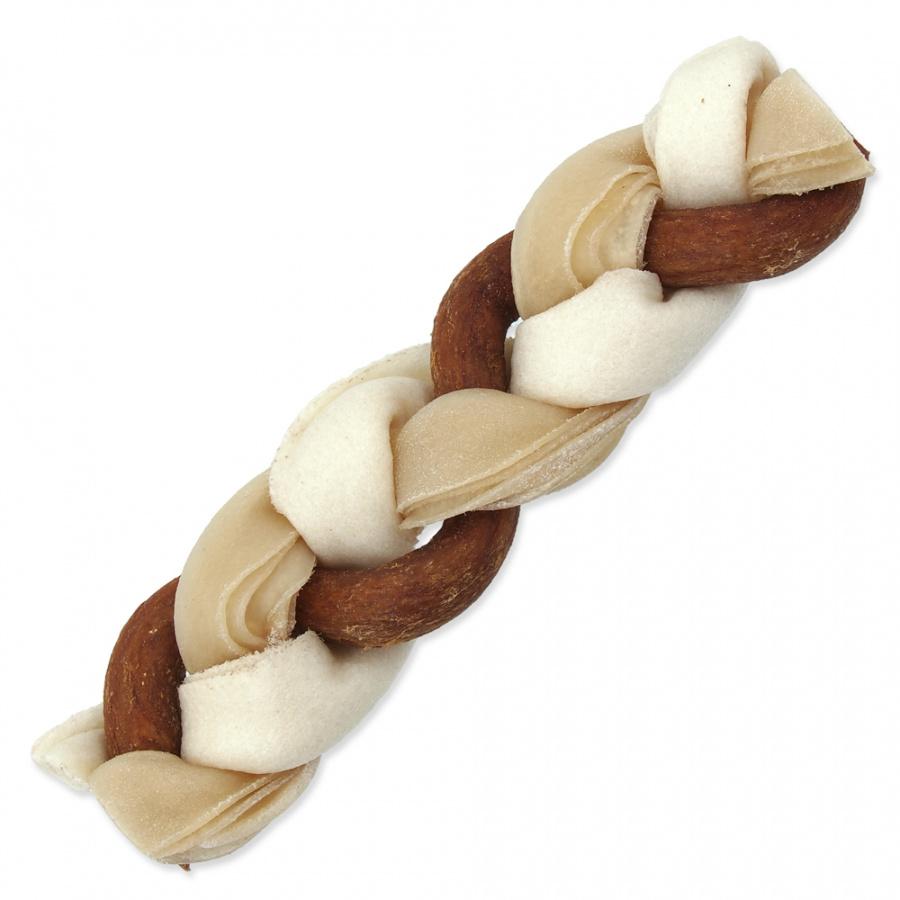 Ontario Rawhide Snack Braided Stick Mix 17,5cm 1 ks