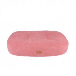 Guļvieta suņiem - AmiPlay Oval mattress Montana L, 78 x 65 x 10 cm, pink